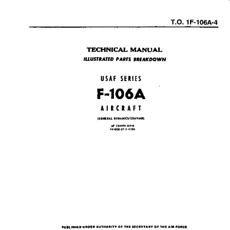 Convair F-106A Illustrated Parts Breakdown Manual.pdf   DocDroid