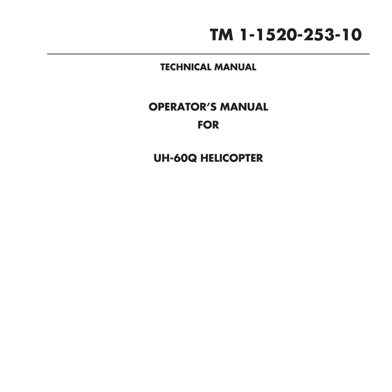 Sikorsky UH-60 Black Hawk Operators Manual.pdf | DocDroid