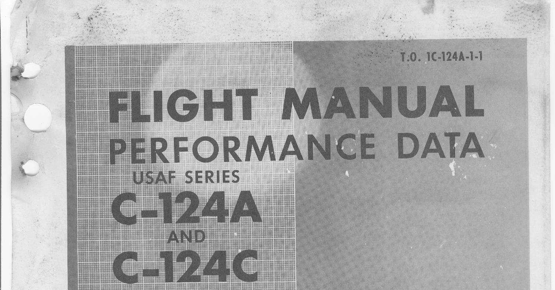 Douglas C-124AC Performance Data Flight Manual.pdf | DocDroid