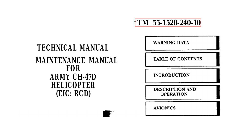 Army CH-47D Maintenance Manual.pdf   DocDroid